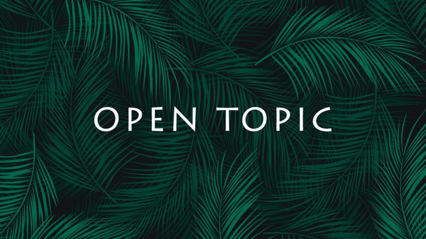 Open Topic 2020